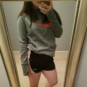 NIKE shorts and hooded top set